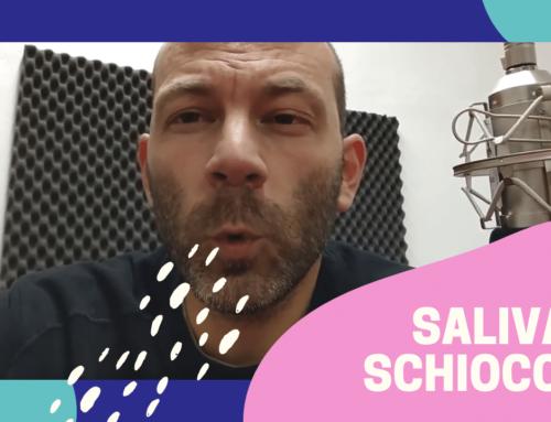 PUBLIC SPEAKING, DOPPIAGGIO: saliva e schiocchi